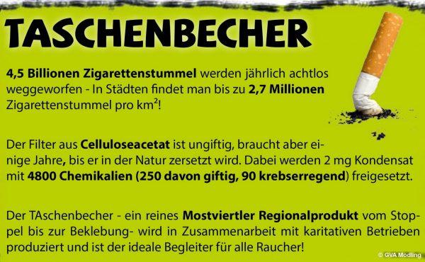 TAschenbecher - Grafik