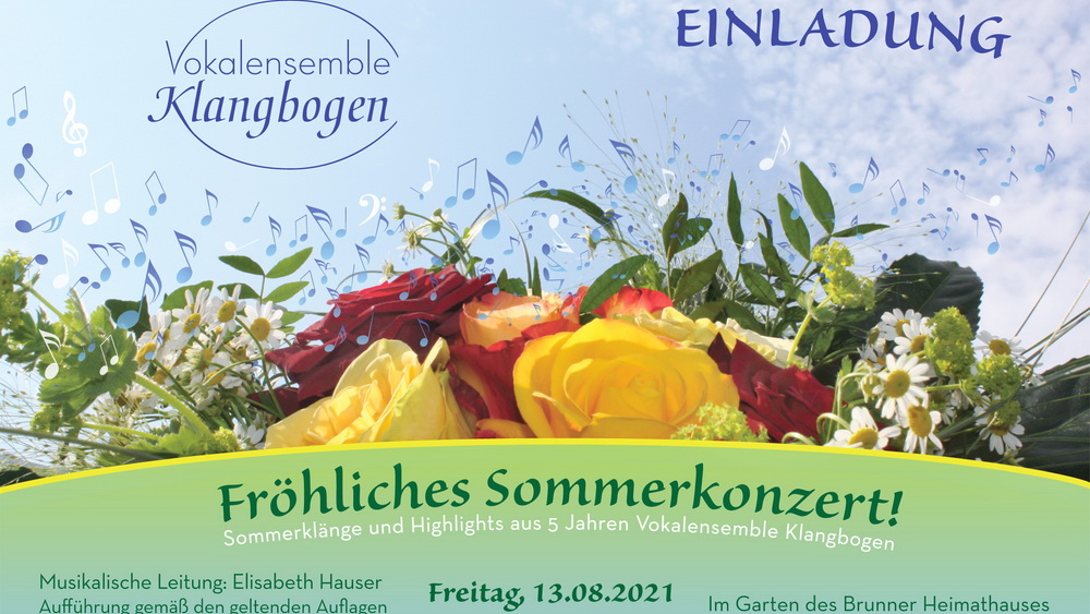 Klangbogen Sommerkonzert